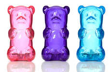 Candied Bear Lamps - These Bedside Table Lights Look Like Gigantic Gummy Bears