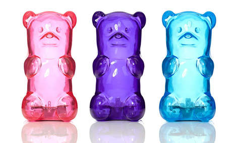 Candied Bear Lamps