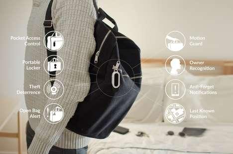 Theft-Deterring Bag Locks