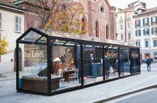 Sophisticated Clubhouse Pop-Ups - The Johnnie Walker Blue Store is Modeled After a Gentlemen's Club
