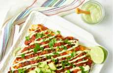 Indulgent Vegan Enchiladas - This Recipe Offers a Vegan Twist on a Tasty Mexican Dish