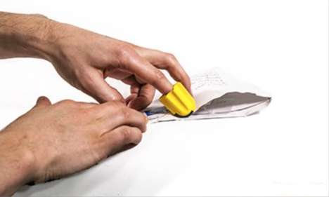 Package-Opening Accessories - The 'Nimble' Package Opener Can be Operated with One Finger