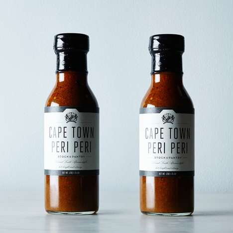 Vinegar-Based South African Sauces - The Cape Town Peri Peri Sauce Two-Pack is a Premium Condiment