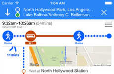 Sprawling City Apps - The 'Go LA' App Helps You Navigate the City of Angels