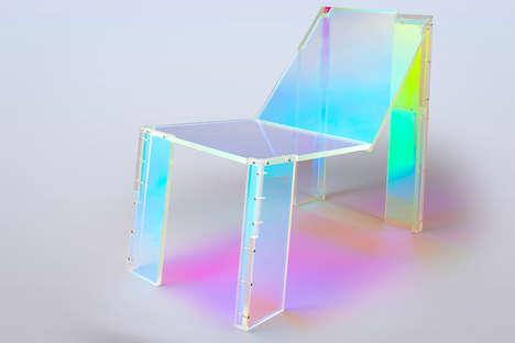 Musician-Inspired Acrylic Chairs