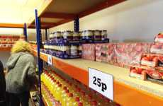 Affordable Airline Grocery Marts - The easyFoodstore in London is Sells All Groceries for 25p