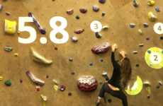 Augmented Reality Rock Climbs - The Time Trial Experience Offers a Gamified Projection of the Sport