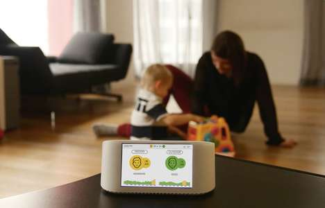 Visualized Air Quality Monitors - The AirVisual Node Helps Improve Indoor Air Quality by Giving Data
