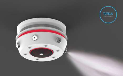Intelligent Fire Sprinklers