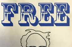 Presidential Candidate Tattoos - This Shop is Offering Free Bernie Sanders Tattoos