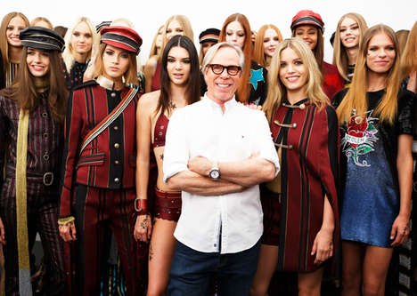 Social Media Photography Pits - Tommy Hilfiger's Latest NYFW Presentation Catered to Instagrammers
