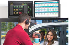 Gamified Foodservice Dashboards - HME Enhances Drive-Thru Service with an Intuitive Leaderboard