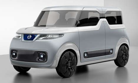 Share Economy Vehicle Designs - The Nissan 'Teatro for Dayz' Concept is Intended to be a Shared Car