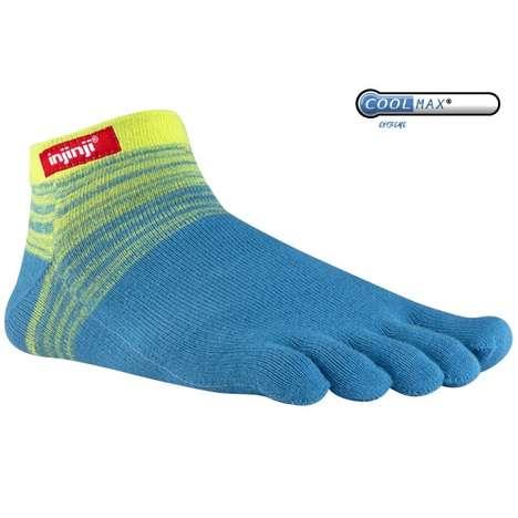 Vibrant Glove-Like Socks