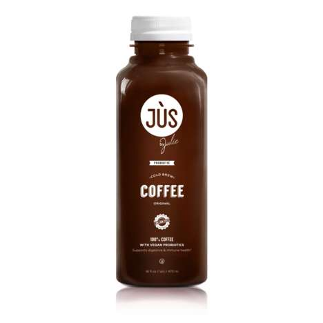 Probiotic Coffee Beverages - This 'Jus by Julie' Drink Combines Coffee and Probiotics