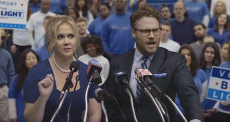 Political Beer Ads - Seth Rogen and Amy Schumer Star in the Bud Light Super Bowl Commercial