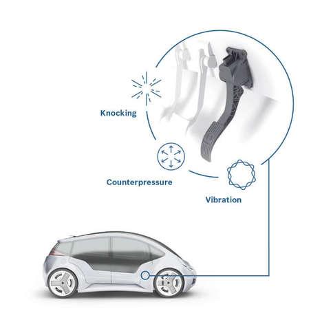 Vibrating Gas Pedals