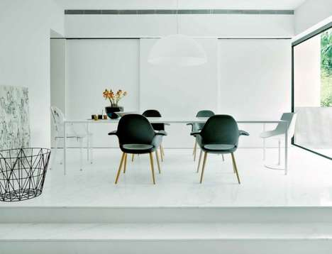 Sleek Monochrome Residences