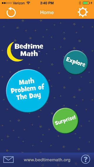 Bedtime Math Apps