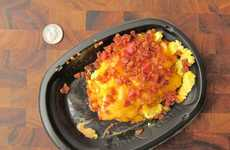 Secret Breakfast Tacos - The A.M. Crunchbowl Offers a Menu Hack Features a Cheesy Egg Dish