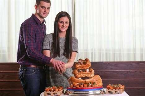Yorkshire Pudding Wedding Cakes