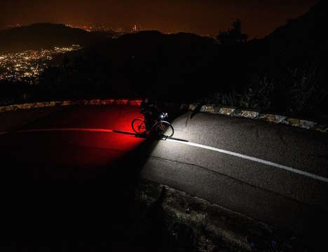 Customizable Cyclist Lights - The 'STELLIGHT' LED Bicycle Light Can be Customized via Smartphone