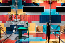 Experiential Interior Design Shows - The Playful IMM LivingInteriors Pavilion is by i29 and Frame