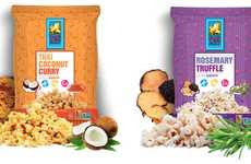 Cultural Popcorn Snacks - Pop Art Snacks' Gourmet Popcorn Range Includes Exotic Flavor Blends