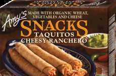Organic Meatless Taquitos - Amy's Organic Cheese Taquitos Provide a Delicious Way to Snack