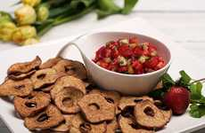Fruit Chip Nacho Platters - These Summer Nachos Substitute Tortilla Chips with Fruit Crisps