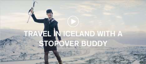 Accompanied Layover Vacations - This Promotion Allows Icelandair Passengers to Book a Personal Guide