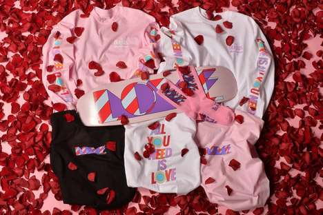 Romantic Rocker Apparel - Diamond Supply Co. Has Teamed with The Beatles for a Sentimental Lineup