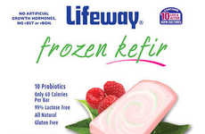 Cooling Kefir Bars - These Frozen Snacks are Made From Cultured Probiotic Ingredients