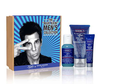 Cinematic Skincare Collaborations - The Zoolander X Kiehl's Collection Boasts Male-Centric Products