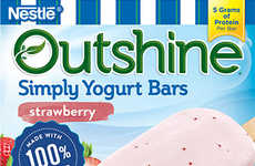 Frozen Yogurt Bars - The Simply Yogurt Bars Are Devoid Of Harmful Corn Syrups