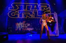 Galactic Burlesque Shows - This Sultry Star Wars-Themed Show is Nerdy and Naughty