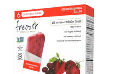 Tropical Frozen Treats - Froozer's Frozen Treats Feature Pure Fruit Content Without Concentrate