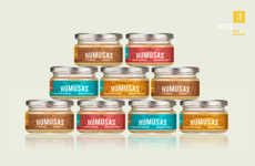 Glass Jar Hummus Branding
