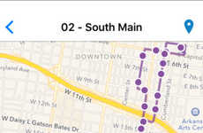 Proactive Transit Apps - The METROtrack App Lets Users Set Stop Reminders and Plan Their Trips