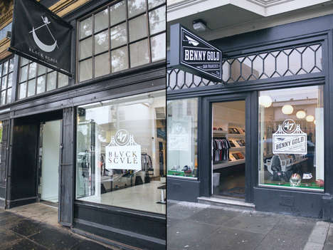 Sporty Locker Room Shops - The Super Bowl 50 Shop by Retailer '47 Conveys an Athletic Aesthetic