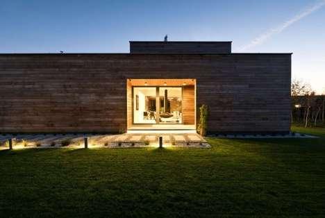 Contemporary Cedar Abodes