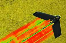 Crop-Monitoring Drone Cameras