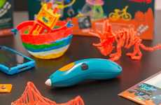Child-Friendly 3D Pens - The 3Doodler Start is a Safer 3D Pen Designed For Children