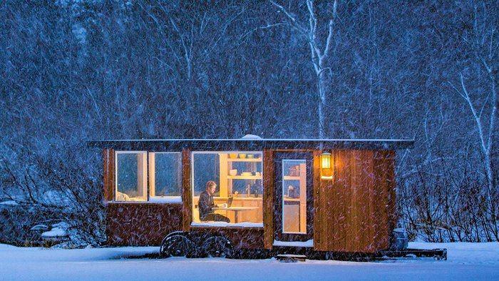 Space-Saving Tiny Homes