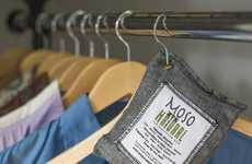 Chemical-Free Air Fresheners - The Moso Natural Air Purifying Bag is Scentless and Prevents Mold