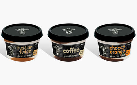 Gourmet Dessert Yogurts - The Collective's Luxury Dairy Snacks Offer a Healthy Sweet Indulgence