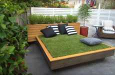 DIY Grass Beds