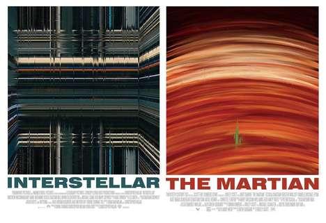 Cinematic Brushstroke Posters