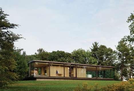 Transparent Hillside Cottages