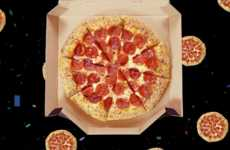 Celebratory Pizza Promotions - This Promotion Celebrates National Pizza Day with Tweets